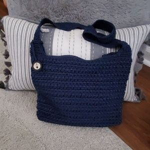 The Sak dark blue shoulder bag